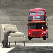 British London Bus Wall Stickers 9102