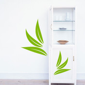 leaf wall stickers