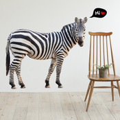 Zebra Wall Stickers 9109