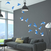 Flock of Birds Wall Stickers 9117