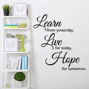 Learn, Live, Hope -  2083