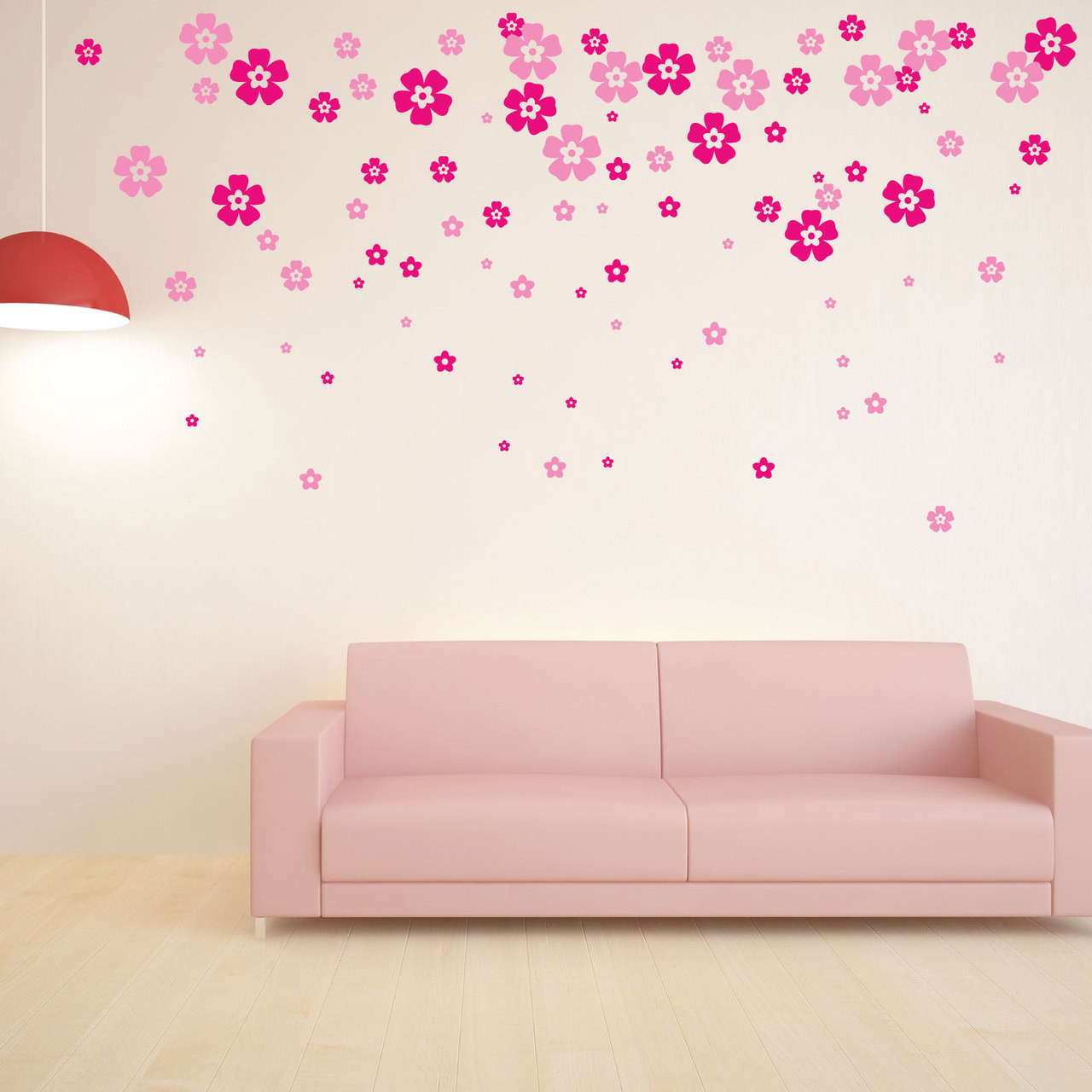 40 X Small Flower Wall Stickers 8913 Stickers Wall