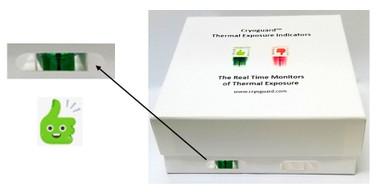 Freezer Box for Cryoguard Thermal Exposure Indicators