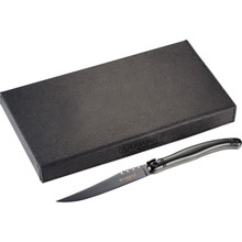 Black Laguiole Black Knife Set