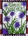 "Magnet ""Garlic Forever!"""