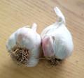 Silver Rose Garlic Premium Label