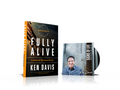 Fully Alive (Hardcover Book) by Ken Davis + Bonus DVD