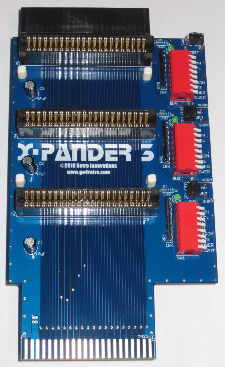 X-Pander 3 Slot Cartridge Port Expander
