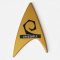 Personalized Star Trek TOS Engineering Pin