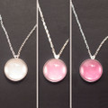 Glass Color Changing Ultra Violet UV Detector Necklace