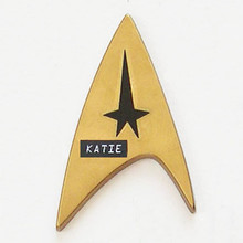 Star Trek Pin Custom Personalized Recycled Play Pin