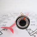 Working Thermometer Necklace on a Sterling Chain