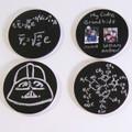 Metal Chalkboard Pin with Eraser