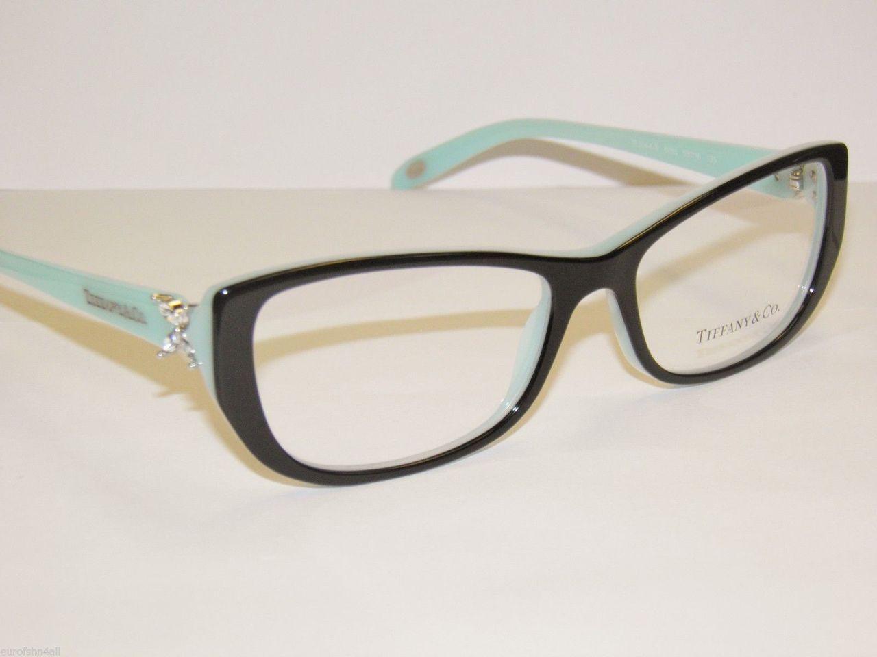 e0c1b4fb2fc5 TIFFANY TF 2044B Eyeglasses 8055 Blk Blue 53-16-135 - Elite Eyewear ...