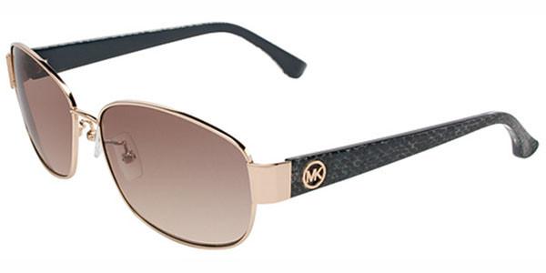 0546c576199e Michael Kors M2457 Phuket Sunglasses 717 Gold. Image 1. Loading zoom
