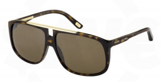 ab60f9aee372a Marc Jacobs 252 S Sunglasses 0086SP Havana (6013) - Elite Eyewear Studio