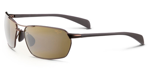 3ff030a2cae MAUI JIM MALIKO GULCH Sunglasses (H324-23) Metallic Gloss Copper 65 ...