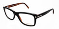 TOM FORD FT5163 Eyeglasses 005 Blk 55-17-145