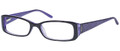 CANDIES C RIHANNA Eyeglasses Blk Purple 51-16-135