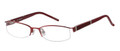 MAGIC CLIP M 356 Eyeglasses Burg 53-18-135