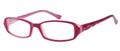 CANDIES C ABIGAIL Eyeglasses Burg Pink 50-15-135