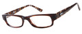 BONGO B ALEX Eyeglasses Br Striated 49-16-135