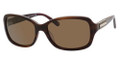 BANANA REPUBLIC KALLIE/P/S Sunglasses JLUP Tort Plum 57-16-125