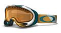 Oakley A-Frame 7001 Sunglasses 01-958 White/Blue/Gold
