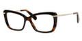 MARC JACOBS  544 Eyeglasses 08Nq Dark Havana Gold 53-16-140