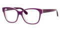 MARC BY MARC JACOBS MMJ 591/N Eyeglasses 00JY Purple Br Striped 52-15-140