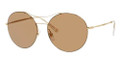 GUCCI 4252/S Sunglasses 0J5G Gold 58-16-140