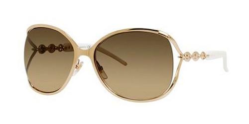edbc8eb8929 GUCCI 4250 S Sunglasses 0J5G Gold 60-17-115 - Elite Eyewear Studio
