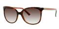 GUCCI 3649/S Sunglasses 017L Havana 56-17-140