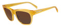 JIL SANDER JS643S Sunglasses 771 Honey 53-19-140