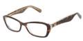 Dolce & Gabbana DG 3168 Eyeglasses 2738 Havana Glitter Gold 53-16-135