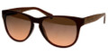 ARMANI EXCHANGE AX 4015 Sunglasses 804113 Matte Br 56-17-135