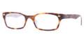 Ray Ban RX 5150 Eyeglasses 5238 Havana On Opal Blue 50-19-135