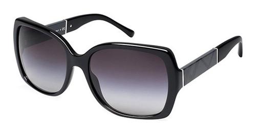 d32519cedb5c BURBERRY BE 4160 Sunglasses 30018G Blk 58-17-135 - Elite Eyewear Studio