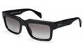 PRADA PR 01QS Sunglasses 1AB0A7 Blk 52-19-140
