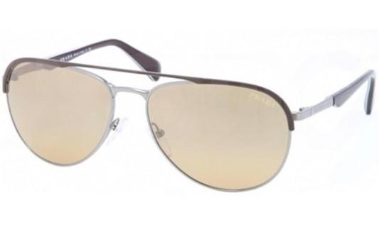 a6b515437f0 PRADA PR 51QS Sunglasses LAH2C2 Matte Br Gunmtl 59-16-140 - Elite ...