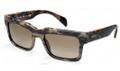 PRADA PR 01QS Sunglasses ROI1X1 Matte Br 52-19-140
