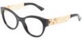 Dolce & Gabbana DG 3184 Eyeglasses 501 Blk 50-19-140