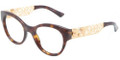 Dolce & Gabbana DG 3184 Eyeglasses 502 Havana 48-19-140