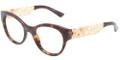 Dolce & Gabbana DG 3184 Eyeglasses 502 Havana 50-19-140