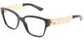 Dolce & Gabbana DG 3186 Eyeglasses 501 Blk 53-16-140