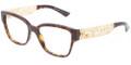 Dolce & Gabbana DG 3186 Eyeglasses 502 Havana 51-16-140