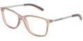 Dolce & Gabbana DG 5006 Eyeglasses 2620 Brown Rubber 54mm
