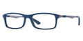 Ray Ban RX 7017 Eyeglasses 5260 Top Blue On Grey 56-17-145