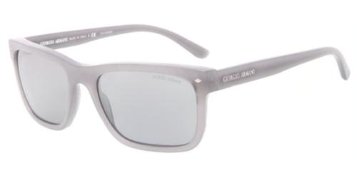 5be05efad3d GIORGIO ARMANI AR 8028 Sunglasses 5175K3 Brushed Grey 55-18-140. Image 1.  Loading zoom
