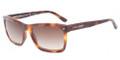 GIORGIO ARMANI AR 8028F Sunglasses 5007M7 Brushed Havana 55-18-140